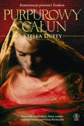 Purpurowy całun - Stella Duffy | mała okładka