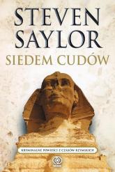 Siedem cudów - Steven Saylor | mała okładka