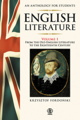 English Literature. An Anthology for Students 1 - Krzysztof Fordoński | mała okładka