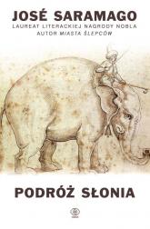 Podróż słonia - Jose Saramago | mała okładka