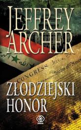 Złodziejski honor - Jeffrey Archer | mała okładka