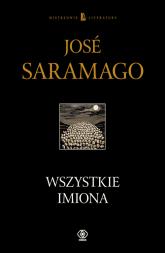 Wszystkie imiona - Jose Saramago | mała okładka
