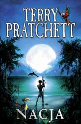 Nacja - Terry Pratchett | mała okładka