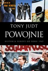 Powojnie Historia Europy od roku 1945 - Tony Judt | mała okładka