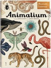 Animalium Muzeum zwierząt - Jenny Broom | mała okładka