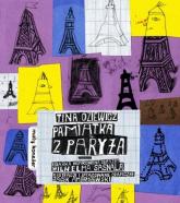 Pamiątka z Paryża - Tina Oziewicz | mała okładka