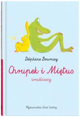 Chrupek i Miętus - wrażliwcy - Delphine Bournay | mała okładka
