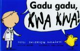 Gadu gadu kwa kwa, czyli zwierzęce rozmówki - Nicola Davies | mała okładka