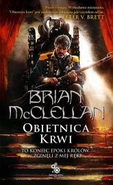 Trylogia magów prochowych. Tom 1. Obietnica krwi - Brian McClellan | mała okładka