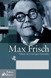 Szkice do trzeciego dziennika - Max Frisch | mała okładka