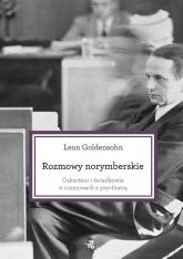 Rozmowy norymberskie - Leon Goldensohn | mała okładka