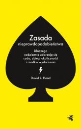 Zasada nieprawdopodobieństwa - David Hand | mała okładka