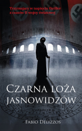 Czarna loża jasnowidzów - Fabio Delizzos | mała okładka