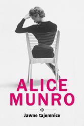Jawne tajemnice - Alice Munro   mała okładka