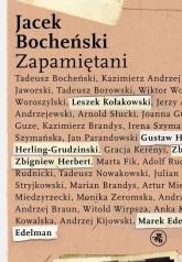 Zapamiętani - Jacek Bocheński | mała okładka