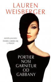 Portier nosi garnitur od Gabbany - Lauren Weisberger | mała okładka