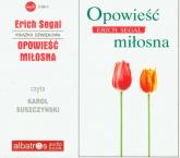 Opowieść miłosna audiobook - Erich Segal | mała okładka
