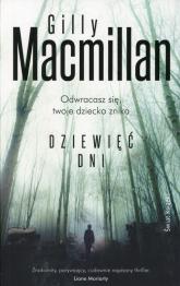 Dziewięć dni - Gilly MacMillan | mała okładka