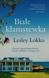 Białe kłamstewka - Lesley Lokko | mała okładka