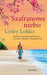 Szafranowe niebo - Lesley Lokko | mała okładka