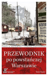 Przewodnik po powstańczej Warszawie - Urzykowski Tomasz, Majewski Jerzy S. | mała okładka