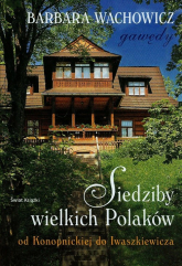 Siedziby wielkich Polaków - Barbara Wachowicz | mała okładka