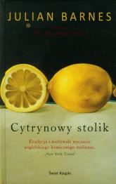 Cytrynowy stolik - Julian Barnes | mała okładka