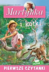 Pierwsze czytanki Martynka i kotki (poziom 2) - Liliana Fabisińska | mała okładka