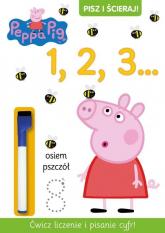 Pisz i ścieraj 1. Świnka Peppa -  | mała okładka
