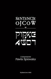 Sentencje Ojców. Pirke Awot - Paweł Śpiewak | mała okładka