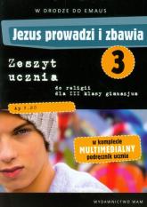Katechizm GIM 3 Jezus prowadzi i zbawia ćw.  - Zbigniew Marek, Anna Walulik (red.) | mała okładka