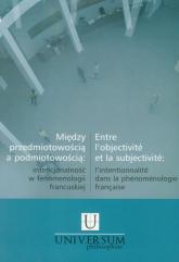 Między przedmiotowością a podmiotowością - Andrzej Gielarowski | mała okładka