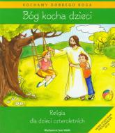 Katechizm dla 4-latków Bóg Kocha Dzieci + CD - Władysław Kubik | mała okładka