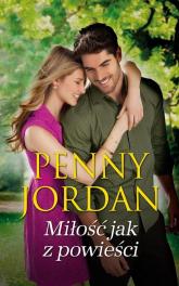 Miłość jak z powieści - Penny Jordan | mała okładka