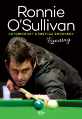Running. Autobiografia mistrza snookera - Ronnie O'Sullivan | mała okładka
