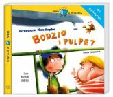 Bodzio i Pulpet. Audiobook - Grzegorz Kasdepke | mała okładka