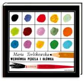 Wędrówka pędzla i ołówka - Maria Terlikowska | mała okładka