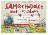 Samochodowy blok rysunkowy - Artur Nowicki | mała okładka