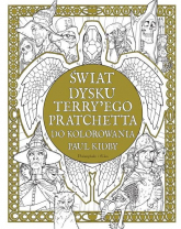 Świat Dysku Terry'ego Pratchetta do kolorowania - Kidby Paul, Pratchett Terry | mała okładka