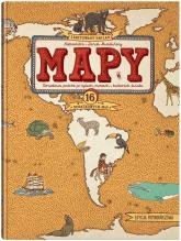 MAPY. Obrazkowa podróż po lądach, morzach i kulturach świata. Edycja pomarańczowa - Mizielińska Aleksandra, Mizieliński Daniel | mała okładka