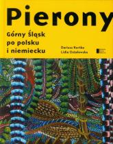 Pierony. Górny Śląsk po polsku i niemiecku Antologi - Ostałowska Lidia, Kortko Dariusz | mała okładka