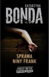 Sprawa Niny Frank - Katarzyna Bonda | mała okładka