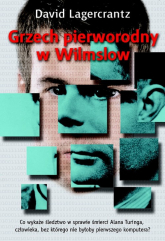 Grzech pierworodny w Wilmslow - David Lagercrantz | mała okładka