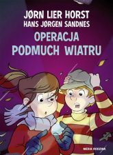 Operacja Podmuch Wiatru - Horst Jorn Lier | mała okładka