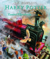 Harry Potter i kamień filozoficzny. Ilustrowany - Rowling Joanne K. | mała okładka