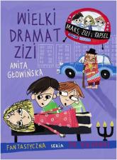 Wielki dramat Zizi - Anita Głowińska | mała okładka