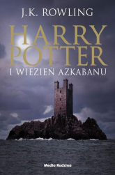 Harry Potter 3 Harry Potter i więzień Azkabanu - J.K Rowling | mała okładka