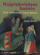 Najpiękniejsze baśnie Andersena i braci Grim. Audiobook - Opracowanie zbiorowe | mała okładka