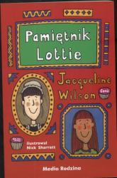 Pamiętnik Lottie - Jacqueline Wilson | mała okładka