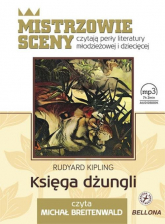 Księga dżungli. Audiobook - Rudyard Kipling | mała okładka